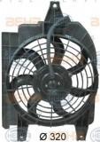 Ventilator,aer conditionat KIA RIO combi 1.3 - HELLA 8EW 351 034-691