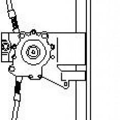 Mecanism actionare geam VW GOLF Mk III 1.9 D - TOPRAN 108 673 - Macara geam