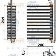 Evaporator, aer conditionat BMW 3 limuzina 318 i - HELLA 8FV 351 330-501
