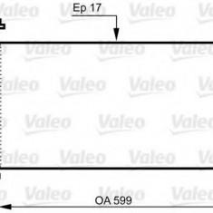 Condensator, climatizare HONDA CIVIC VIII Hatchback 1.8 - VALEO 814333 - Radiator aer conditionat