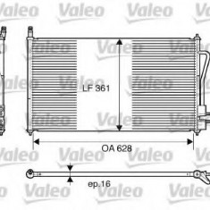 Condensator, climatizare FORD FOCUS 2.0 16V - VALEO 817493 - Radiator aer conditionat