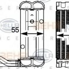Evaporator, aer conditionat MERCEDES-BENZ S-CLASS limuzina S 400 L Hybrid - HELLA 8FV 351 331-281