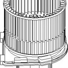 Electromotor, ventilatie interioara OPEL VECTRA B 1.7 TD - TOPRAN 207 329 - Motor Ventilator Incalzire