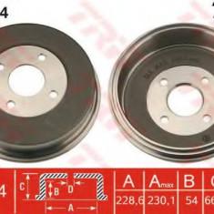 Tambur frana FORD MONDEO  1.8 TD - TRW DB4154 - Saboti frana auto