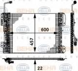 Condensator, climatizare MERCEDES-BENZ AXOR 1835 LS - HELLA 8FC 351 317-641