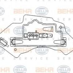 Reglaj, suflanta de interior MERCEDES-BENZ E-CLASS limuzina E 220 D - HELLA 5HL 351 321-131 - Motor Ventilator Incalzire