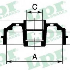 Tambur frana RENAULT CLIO Mk II 1.9 dTi - LPR 7D0395 - Saboti frana auto