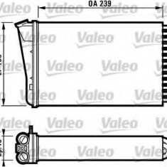 Schimbator caldura, incalzire habitaclu OPEL OMEGA B 2.2 16V - VALEO 812126 - Sistem Incalzire Auto