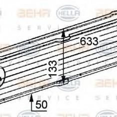 Intercooler, compresor MERCEDES-BENZ VITO / MIXTO caroserie 111 CDI - HELLA 8ML 376 723-521 - Intercooler turbo