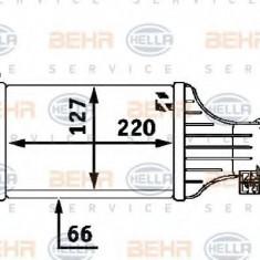 Intercooler, compresor VAUXHALL ASTRA Mk IV hatchback 2.0 DI - HELLA 8ML 376 723-181 - Intercooler turbo