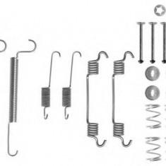 Set accesorii, sabot de frana OPEL ASTRA F Cabriolet 1.6 i - TEXTAR 97011800