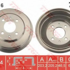Tambur frana HYUNDAI EXCEL II 1.3 - TRW DB4416 - Saboti frana auto