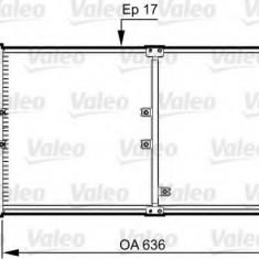 Condensator, climatizare OPEL ANTARA 2.0 CDTI 4x4 - VALEO 814359 - Radiator aer conditionat