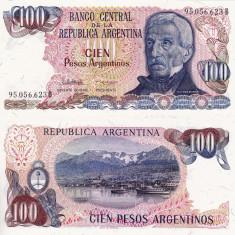 ARGENTINA 100 pesos ND P-315a UNC!!! - bancnota america