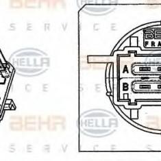 Rezistor, ventilator habitaclu CITROËN C5 III limuzina 1.6 VTi 120 - HELLA 9ML 351 332-241 - Motor Ventilator Incalzire