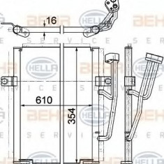 Condensator, climatizare VOLVO S40 I limuzina 1.8 - HELLA 8FC 351 036-671 - Radiator aer conditionat