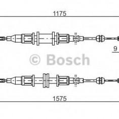 Cablu, frana de parcare OPEL MANTA B 1.2 N - BOSCH 1 987 477 766