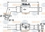 Supapa control, agent frigorific VOLVO FH 12 FH 12/340 - HELLA 9XL 351 328-111
