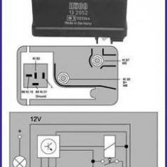 Releu, instalatia de comanda bujii incandescente RENAULT 20 2.1 Diesel - HÜCO 132052 - Relee