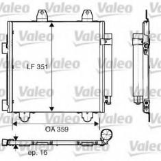 Condensator, climatizare CITROËN C1 1.0 - VALEO 818013 - Radiator aer conditionat