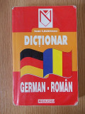 DICTIONAR GERMAN ROMAN- LAZARESCU
