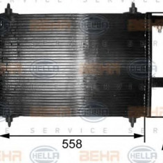 Condensator, climatizare CITROËN C5 I 1.8 16V - HELLA 8FC 351 300-251 - Radiator aer conditionat