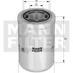 Filtru hidraulic, cutie de viteze automata NEW HOLLAND TM TM190 - MANN-FILTER WH 1263