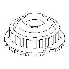 Rulment sarcina suport arc AUDI A8 limuzina 2.8 - TOPRAN 107 152 - Rulment amortizor