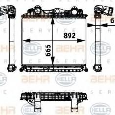 Intercooler, compresor MAN TGA 18.410, 18.420 FC, FRC, FLC, FLRC, FLLC, FLLW, FLLRC, FLLRW - HELLA 8ML 376 724-321 - Intercooler turbo
