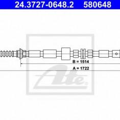 Cablu, frana de parcare FORD MONDEO Mk III combi 2.2 TDCi - ATE 24.3727-0648.2
