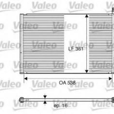 Condensator, climatizare FORD IKON V 1.4 16V - VALEO 817664 - Radiator aer conditionat