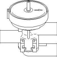Supapa control, agent frigorific OPEL ASTRA F Cabriolet 1.4 Si - TOPRAN 206 241 - Supapa Control Incalzire
