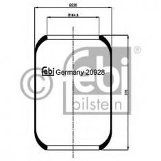 Burduf, suspensie pneumatica - FEBI BILSTEIN 20928