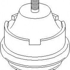 Suport motor CITROËN XSARA 2.0 HDi 90 - TOPRAN 720 186 - Suporti moto auto