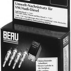 Set adaptare, bujie incandescenta rapida - BERU SR028 - ECU auto
