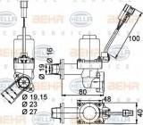 Supapa control, agent frigorific VOLVO FH 12 FH 12/340 - HELLA 9XL 351 328-351