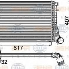 Intercooler, compresor VW PASSAT 1.8 TSI - HELLA 8ML 376 746-741 - Intercooler turbo