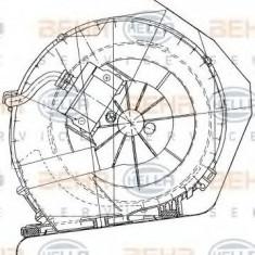 Ventilator, habitaclu RENAULT KANGOO 1.2 - HELLA 8EW 351 034-051 - Motor Ventilator Incalzire