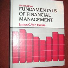 Fundamentals of Financial Management - James C.Van Horne - Carte Management