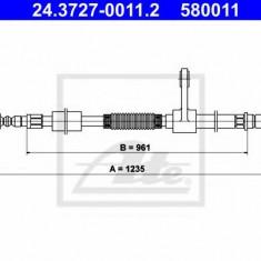 Cablu, frana de parcare ALFA ROMEO 147 2.0 16V T.SPARK - ATE 24.3727-0011.2