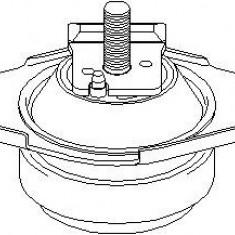 Suport motor FORD ESCORT Mk VII 1.6 16V 4x4 - TOPRAN 301 814 - Suporti moto auto