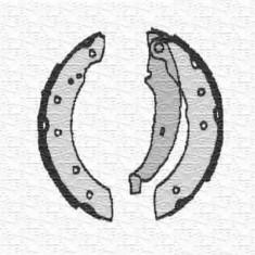 Sabot frana CITROËN ZX 1.9 D - MAGNETI MARELLI 360219192162 - Saboti frana auto
