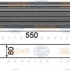 Intercooler, compresor BMW 7 limuzina 730 d - HELLA 8ML 376 746-411 - Intercooler turbo