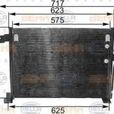 Condensator, climatizare JEEP GRAND CHEROKEE  4.0 i 4x4 - HELLA 8FC 351 300-501 - Radiator aer conditionat