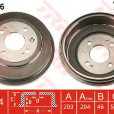 Tambur frana HONDA CONCERTO 1.5 i 16V - TRW DB4286 - Saboti frana auto