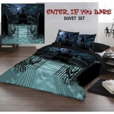 Set lenjerie de pat din bumbac gotică 220x230