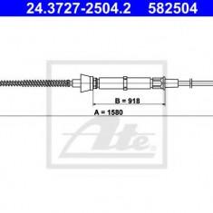 Cablu, frana de parcare SKODA FABIA 1.4 16V - ATE 24.3727-2504.2
