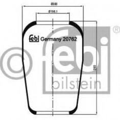 Burduf, suspensie pneumatica - FEBI BILSTEIN 20762