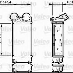 Intercooler, compresor PEUGEOT 308 SW combi 1.6 HDi - VALEO 818841 - Intercooler turbo