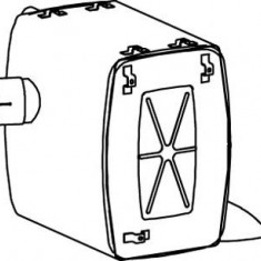 Amortizor zgomot mijloc/spate MERCEDES-BENZ ACTROS 1831, 1831 L - DINEX 50450 - Toba finala auto